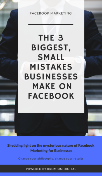 the three biggest small business mistakes make on facebook