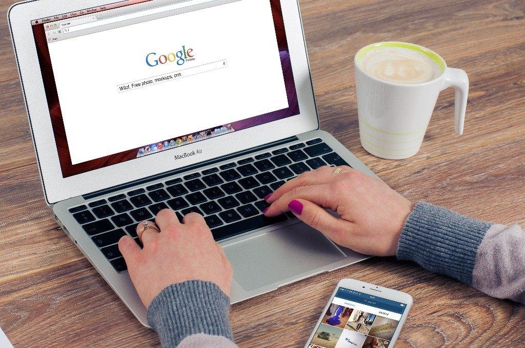 google website simple design